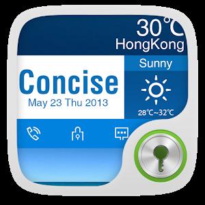 GO Locker Theme Concise icon