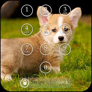 Cute Puppy Keypad Screen Lock icon