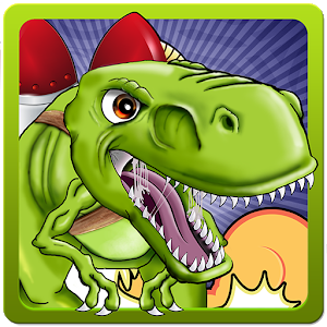 Jetpack Dinosaur icon