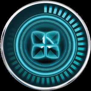 Next Launcher Blue Themes icon