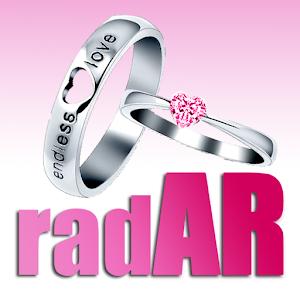 radAR - wedding cards icon