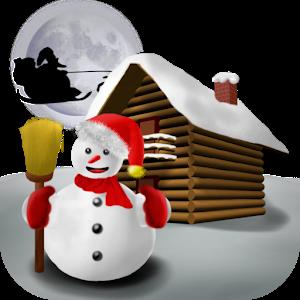Christmas Snowman - Wallpaper icon