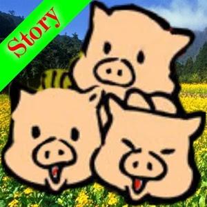 Three Little Pigs Audiobook icon