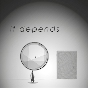 it depends icon