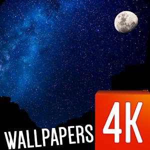 Night Sky Stars Wallpapers 4k Apprecs