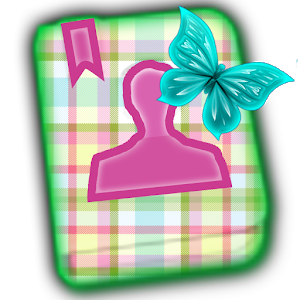 GO CONTACT-PreciousPastelPlaid icon