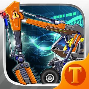 Toy Robot War:Robot Excavator icon