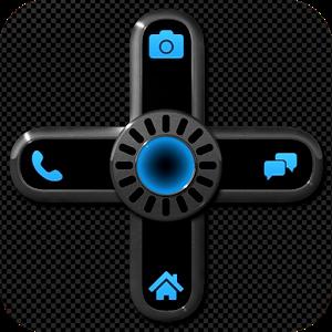 NEON BLUE Go Locker Theme icon