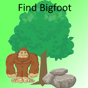 Find Bigfoot icon