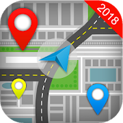 GPS Direction Place Finder App icon