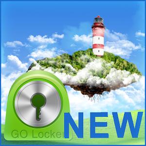 Sky World Theme for GO Locker icon