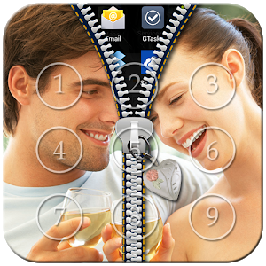 Couple Passcode Zipper Lock icon
