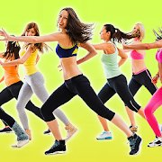 Aerobics workout icon