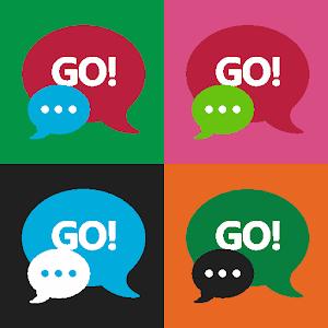 GO SMS Windows Blue icon