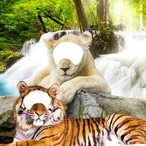 Lion & Tiger Photo Editor icon