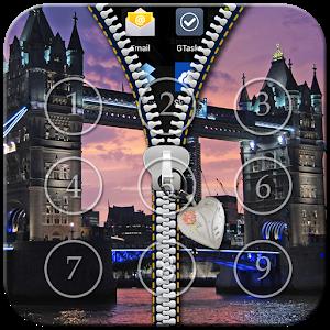 London Zipper Lock icon