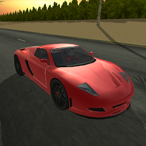 Paradise Traffic Racer icon