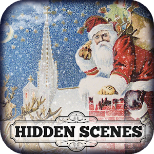 Hidden Scenes Merry Christmas icon