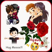 Hug Me Love Stickers & valentineday emoji - AppRecs