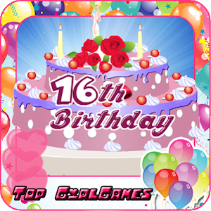 16th birthday cake maker girls icon