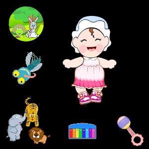 Raising baby games icon