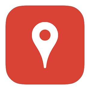 Local map & places icon