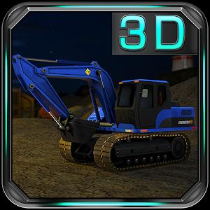 Excavator Mania 3D Simulator icon