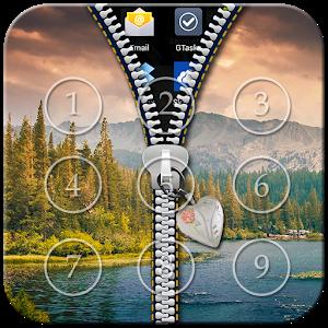 Nature Zipper Lock icon