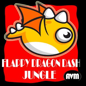 Flappy Bird Jungle Run Game icon