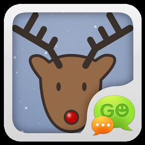 GO SMS Pro Xmas Moose Theme icon