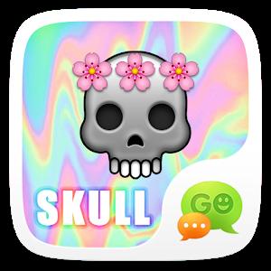 (FREE) GO SMS SKULL STICKER icon