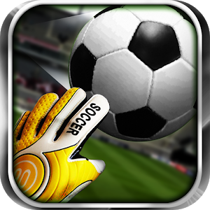 3D Goal keeper icon