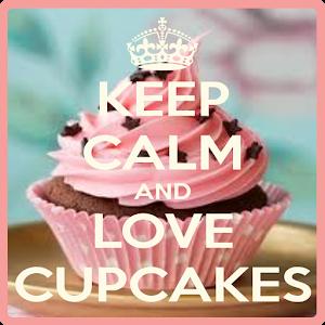 keep calm cupcake wallpaper icon