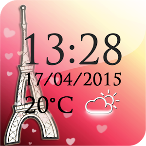 Paris Weather Clock icon
