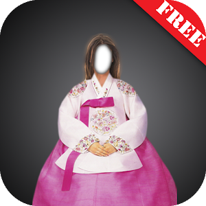 Hanbok Dress Photo Montage icon