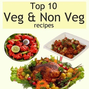 Top Ten Veg & Non Veg Recipes icon