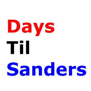 Days Til Bernie Sanders icon