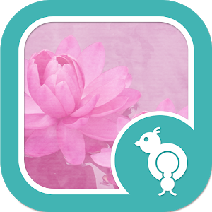 Go Locker Pink Water Lilies icon