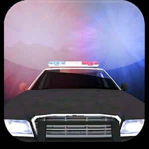 Flashing Police Lights Icon