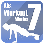 Abs Workout – 7 minutes & 7 days Challenge icon