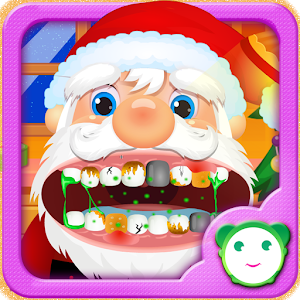 Care Santa Claus Tooth icon
