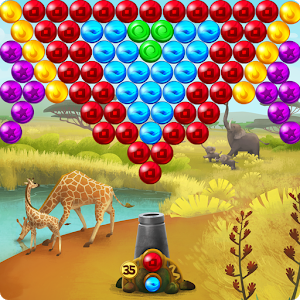 Africa Pop Bubble Shooter icon