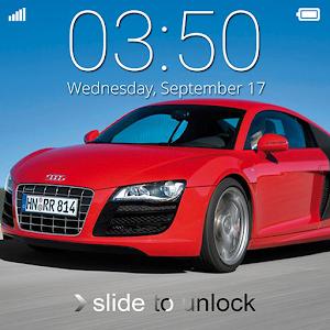 Super Car Lock Screen icon
