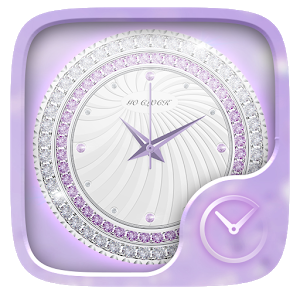 Bling GO Clock Theme icon