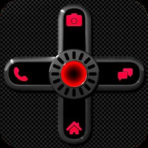 NEON RED Go Locker Theme icon