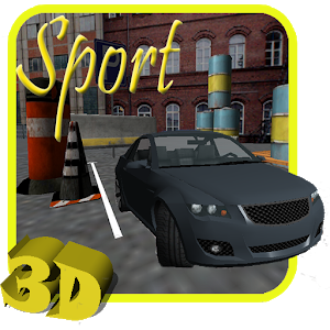Sport Car Parking icon