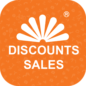 Discounts, sales icon