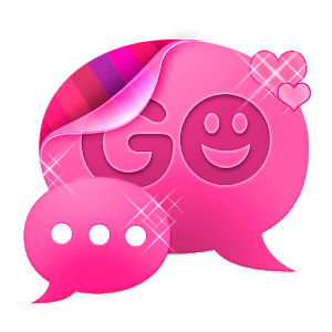 Pink Cute Sweet Theme GO SMS icon