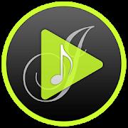 J Music player icon