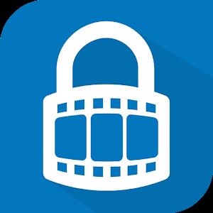 Video locker - Hide videos icon